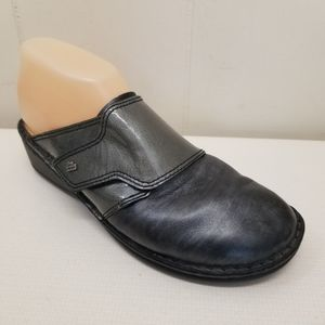 Finn Comfort Clogs AUSSEE Monk Strap Leather Mules